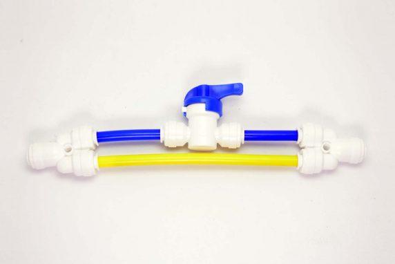 Flush Valve for Membrane